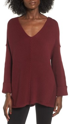 Women's Love By Design Cuff Sleeve Pullover $69 thestylecure.com