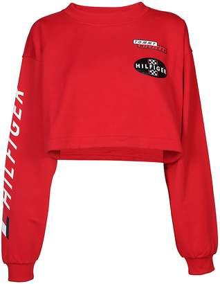 Tommy Hilfiger Racing Crop Sweatshirt