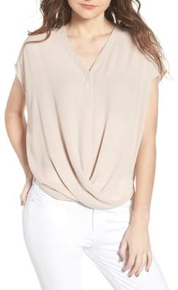 Trouve Drape Front Top