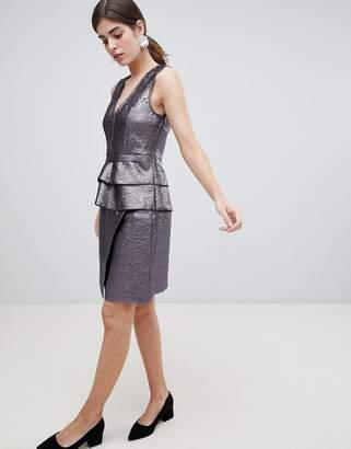 Gestuz Naima Crackled Faux Leather Wrap Skirt