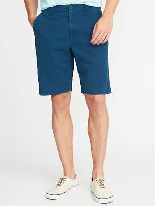 "Old Navy Broken-In Khaki Shorts for Men (10"")"