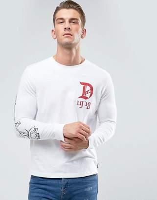 Diesel Joe-LS-QA Long Sleeve Top D Print