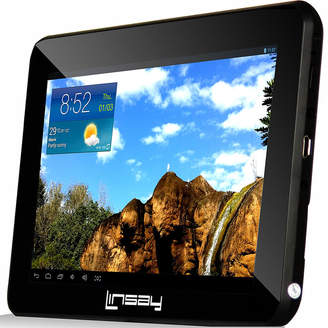 LINSAY 7 HD Quad Core Android 6.0 Tablet 8GB DUAL CAM with Earphones and Pen