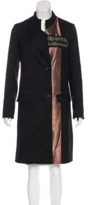 Maiyet Embellished Wool Coat