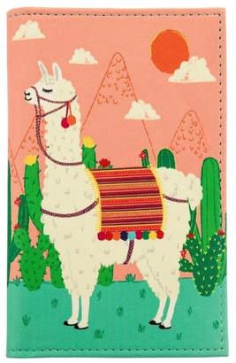 Sass & Belle Llama Passport Cover