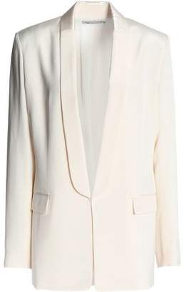 Alexander Wang Silk Crepe De Chine Blazer