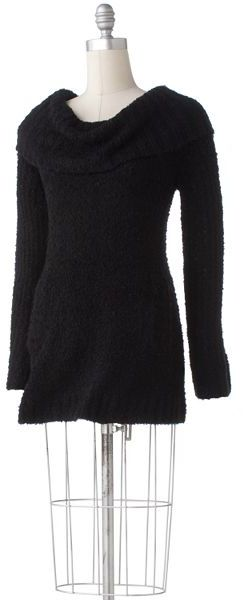 Daisy Fuentes® Marled Cowlneck Sweater