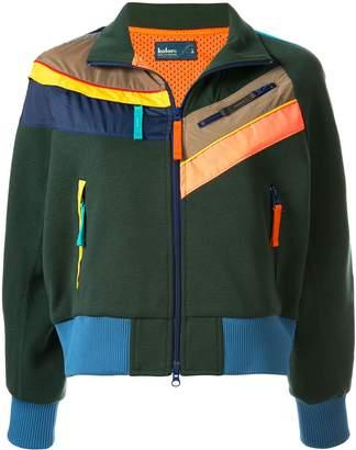 Kolor colour block zip detail jacket