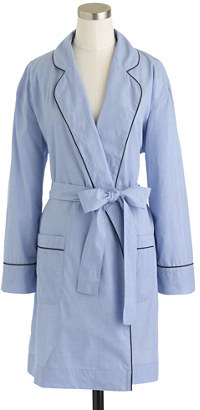 J.Crew End-on-end cotton robe