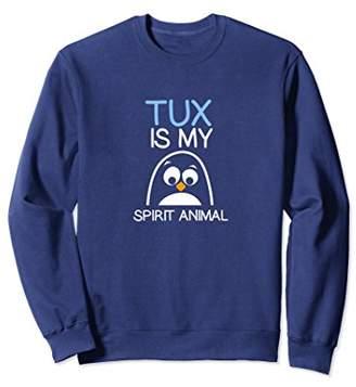 Funny Unix TUX & Linux Shell IT Sweatshirt
