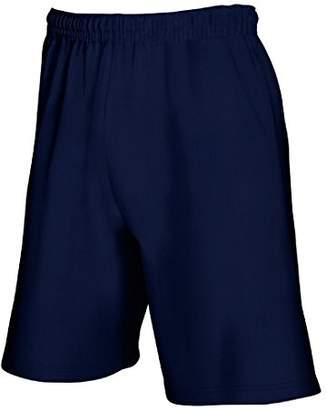 Fruit of the Loom Mens Lightweight Casual Fleece Shorts (240 GSM) (XL)