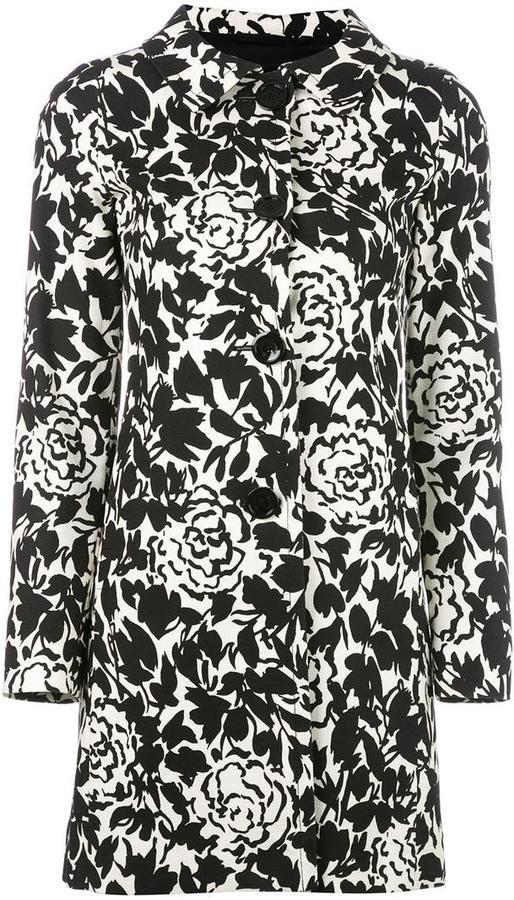 HernoHerno printed coat