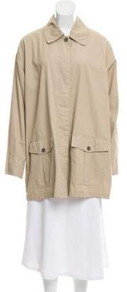 DKNY Collared Button Up Jacket