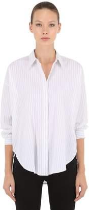 AllSaints Sada Striped Cotton Poplin Shirt