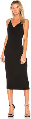 Alexander Wang Shirred Front Sleeveless Dress