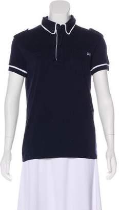 Dolce & Gabbana Short Sleeve Polo Top