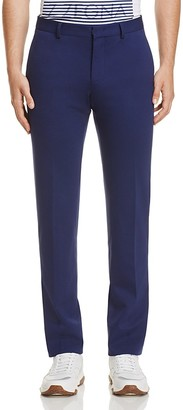 Z Zegna Solid Slim Fit Trousers $280 thestylecure.com