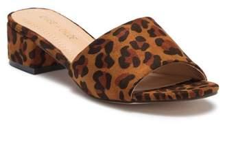 Chloé Chase & Leanne Block Heel Slide Sandal