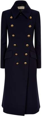 Burberry Double-Breasted Wool Cashmere Coat