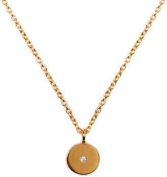 Louise Varberg Jewellery - Diamond Stella Necklace Yellow Gold