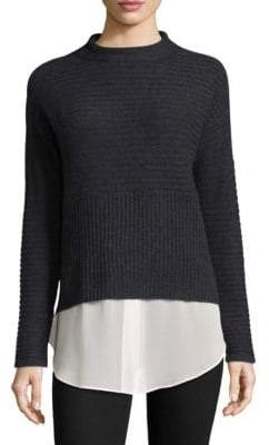 Design History Layered Cashmere Sweater