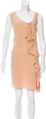 Marni Ruffled Satin Dress