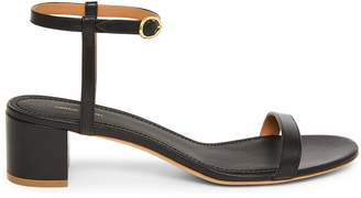 Mansur Gavriel Lamb Ankle Strap Sandal - Black