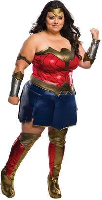 Rubie's Costume Co Costume Rubie's Women's Batman V Superman Dawn of Justice Deluxe Wonder Woman Plus