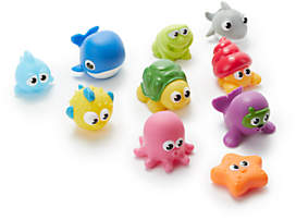 John Lewis & Partners 10 Piece Bath Squirter Set