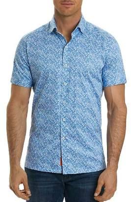 Robert Graham Thad Paisley Short Sleeve Button-Down Shirt