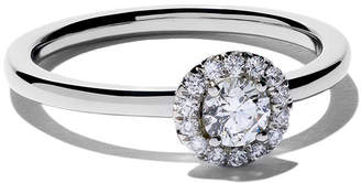 De Beers My First Aura solitaire diamond ring