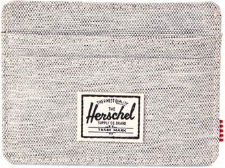 Herschel Light Grey Charlie Credit Card Wallet