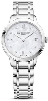 Baume & Mercier Classima Diamond Watch, 31mm