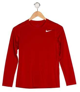 Nike Boys' Long Sleeve Crew Neck Shirt