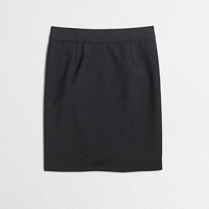 J.Crew Factory Factory pencil skirt in lightweight wool