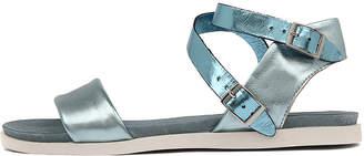 Django & Juliette Hoppy Blue-blue Sandals Womens Shoes Casual Sandals-flat Sandals