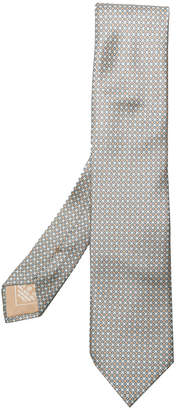 Brioni patterned woven tie