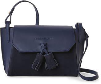 Longchamp Blue Penelope Soft Leather Crossbody