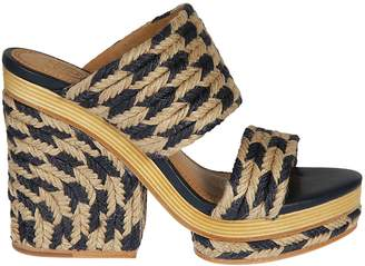 Tory Burch Rope Platform Sandals