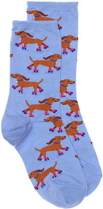 Hot Sox Roller Dog Crew Socks - Women's