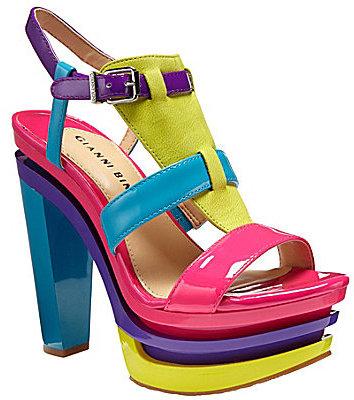 Gianni Bini Calypso Platform Sandals