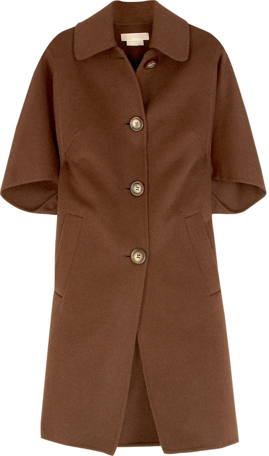 Michael Kors Single-breasted trapeze coat