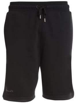 Marcelo Burlon County of Milan Men's Sign Shorts - Black Gold - Size Medium