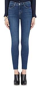 L'Agence Women's Margot Skinny Jeans - Dk. Blue