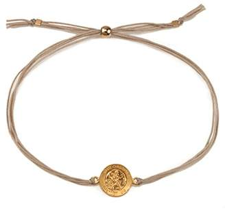 Dogeared Women Gold Charm Bracelet of Length 23cm VGB878-8D-IN