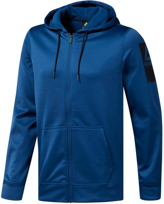 Reebok Men's Full-Zip Fleece Hoodie