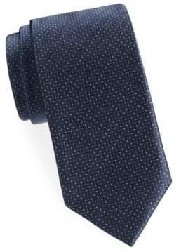 Brioni Zigzag Silk Tie