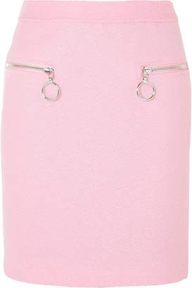 Moschino Wool-blend Skirt - Pink