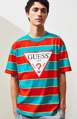 GUESS Davidson Striped T-Shirt