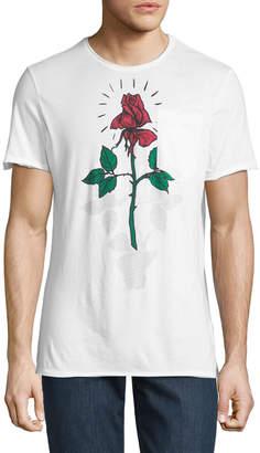 Antony Morato Men's Rose-Print Pocket T-Shirt